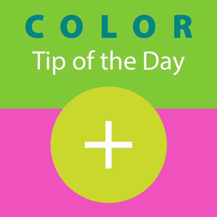 COLOR tip of the day