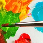 How to deal with acrylic paint accidents